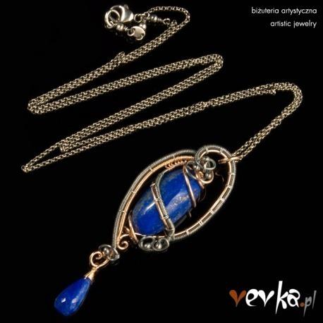 "Wisior lapis lazuli ""Frank"""