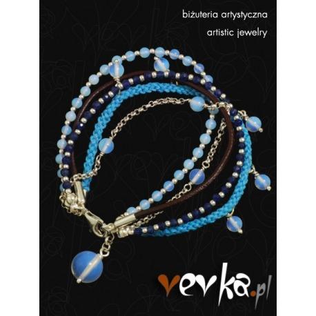 """Bransoletka """"Blue Valentine"""""""