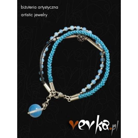 """Bransoletka """"Blue Valentine""""II"""